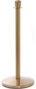 Brass Rope Master Stanchion
