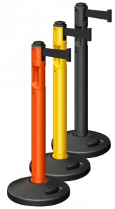High Quality Beltrac Tempest Plastic Outdoor Retractable Stanchions