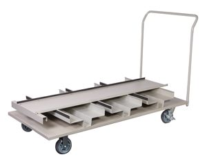 Flatbed Stanchion Cart