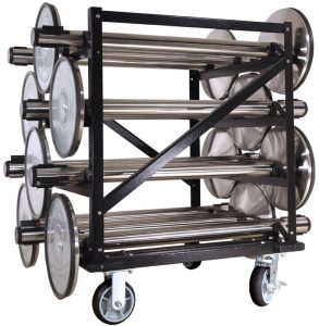 Visiontron 12 Post Stanchion Carts