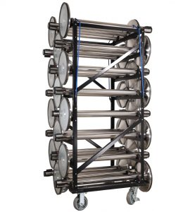 Visiontron 24 Post Stanchion Carts