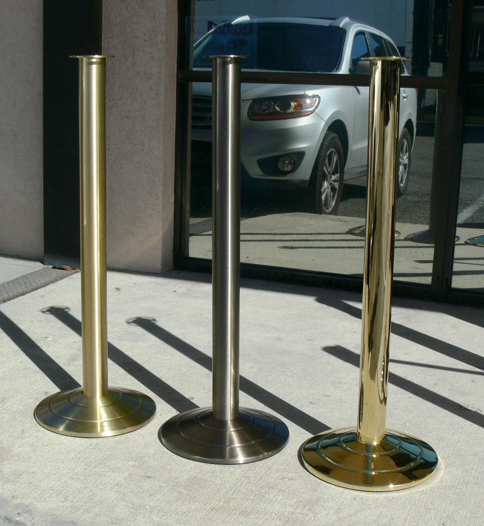 High Quality Post And Rope Stanchions