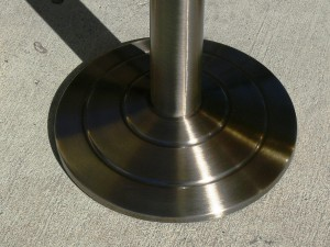 Stanchion Masters Brushed Finish Stanchions