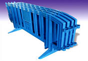 Plastic Crowd Barriers