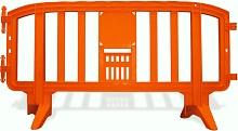 Plastic Crowd Control Event Barrier Orange