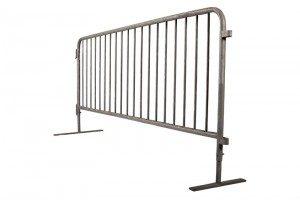 Galvanized Steel Event Barricades