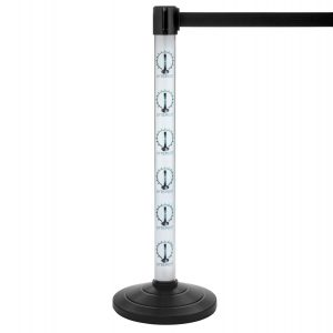 LED Lighted Retractable Stanchion