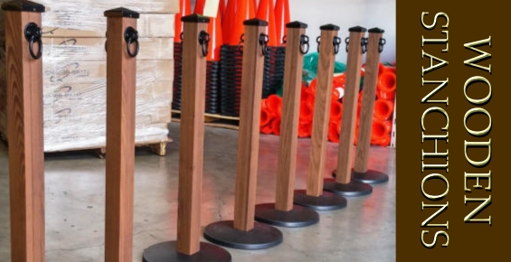Rustic Wooden Stanchions
