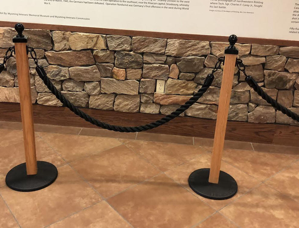 307 Hitching Post Wood Stanchions