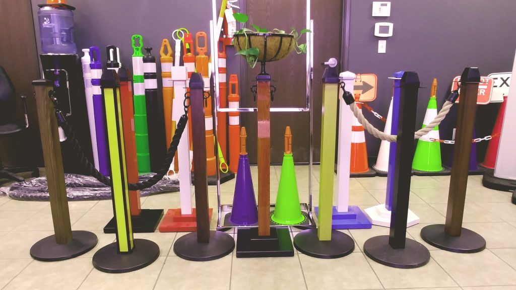 Indoor Outdoor Wooden Stanchions